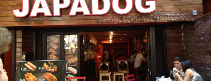 Japadog is one of Tasting Table NYC Recommendations.