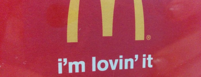 McDonald's is one of Orte, die Christopher gefallen.