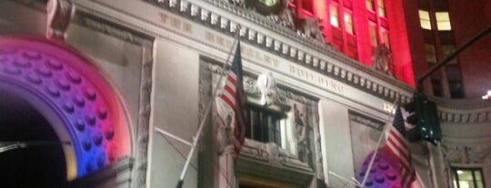 The Helmsley Building is one of Usual spots.
