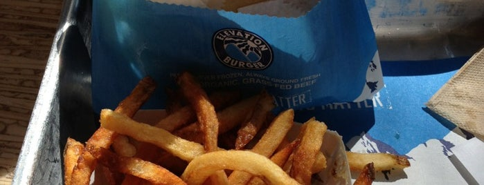 Elevation Burger is one of foodie.