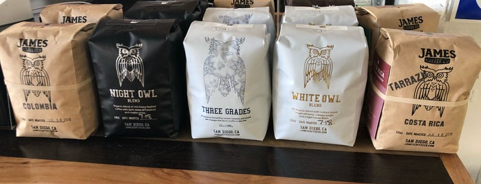 James Coffee Co. is one of SD.