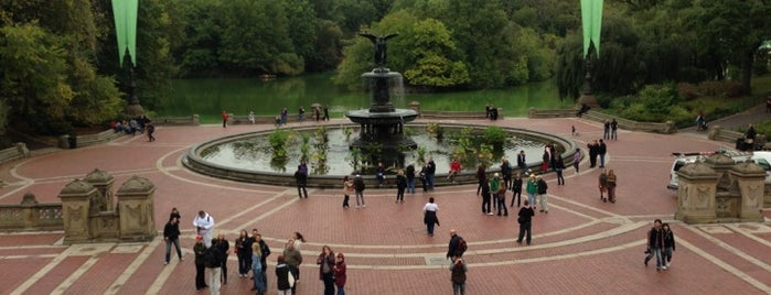 Bethesda Terrace is one of New York.