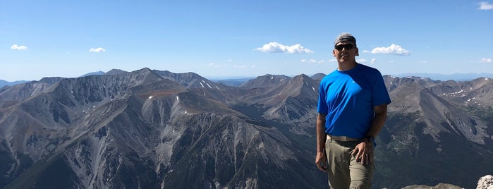 Mt Princeton Summit is one of 14ers.