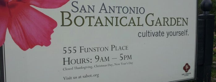 San Antonio Botanical Garden is one of San Antonio.