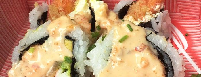 Hanashi Sushi Bar is one of Lugares favoritos de Carito.