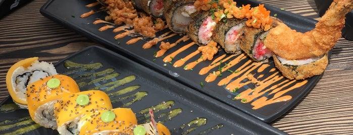 Sushi Friends is one of สถานที่ที่ Sheirly ถูกใจ.