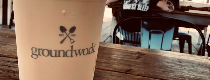 Groundwork Coffee Company is one of LA breakfast.