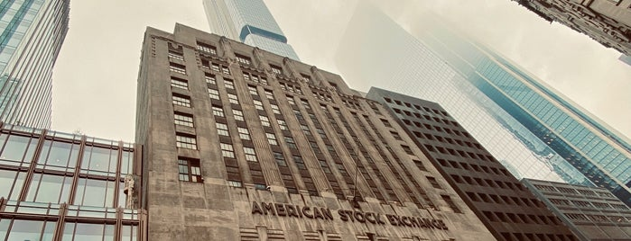 American Stock Exchange is one of Lugares favoritos de Emily.