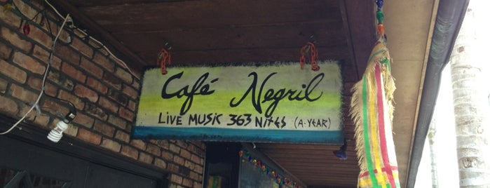 Cafe Negril is one of Eric's Bachelor Party.