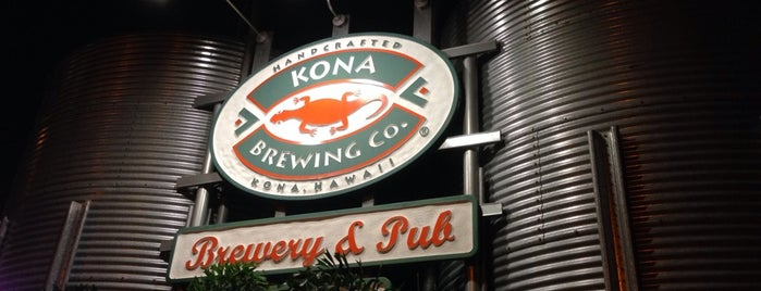 Kona Brewing Co. & Brewpub is one of Breweries USA.
