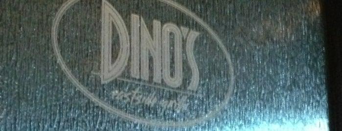 Dino's Eastside Grill is one of Tempat yang Disukai Joe.