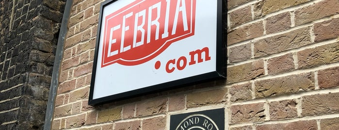 EeBria Taproom is one of The Bermondsey Beer Mile.