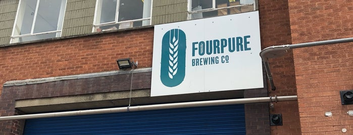 Fourpure Brewing Co. Tap Room is one of London's Best for Beer.
