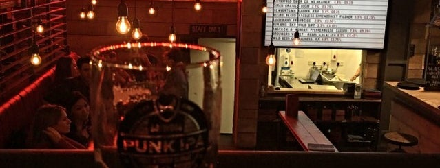 BrewDog Clerkenwell is one of Lieux qui ont plu à Carl.