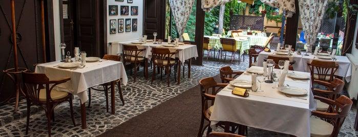 Kéhli Vendéglő is one of 7 cozy garden restaurants in Budapest.