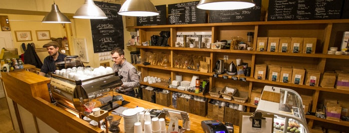 Madal Cafe - Espresso & Brew Bar is one of Budapest's speciality coffee shops (2015).