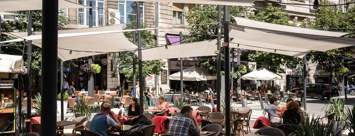 Egyetem tér is one of 5 lesser-known terrace hotspots in Budapest.