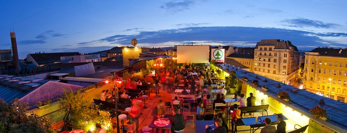 Budapest Rooftop Cinema is one of 5 open-air summer cinema in Budapest.
