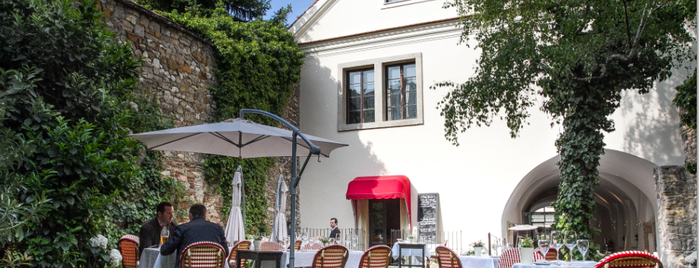 Cafe Pierrot is one of 7 cozy garden restaurants in Budapest.