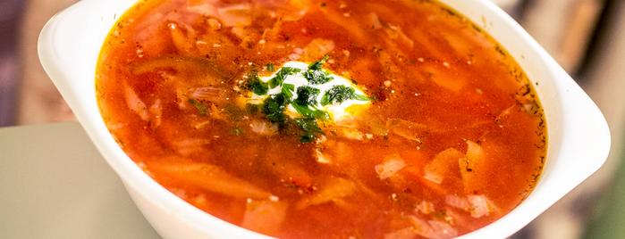 Kolobok Ukrainian & Russian food is one of étterem.