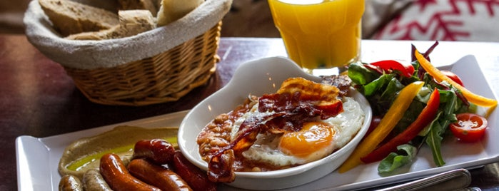 Café Alibi is one of The ultimate list of breakfasts in Budapest (2015).