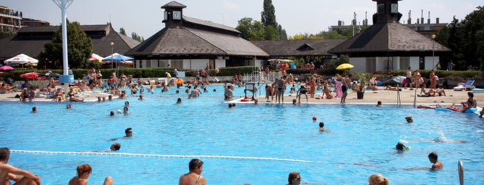 Best swimming spots in and around Budapest