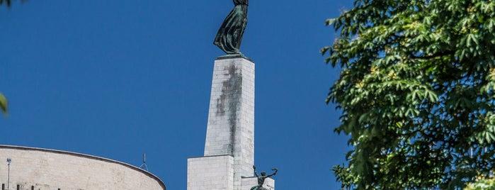 Freiheitsstatue is one of Budapest 3.