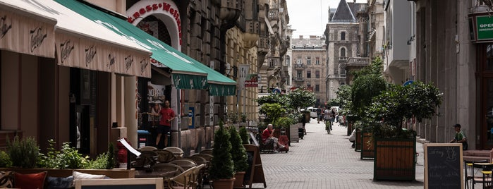 5 lesser-known terrace hotspots in Budapest