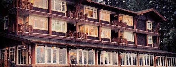Alderbrook Resort & Spa is one of places I've dined.