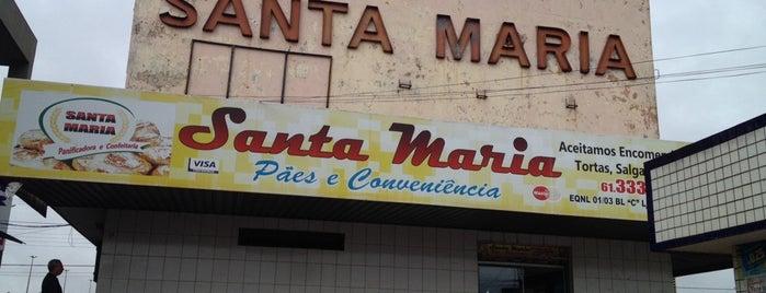 Santa Maria Pães e Conveniência is one of Pub's, Club's e Coffee Shops!.