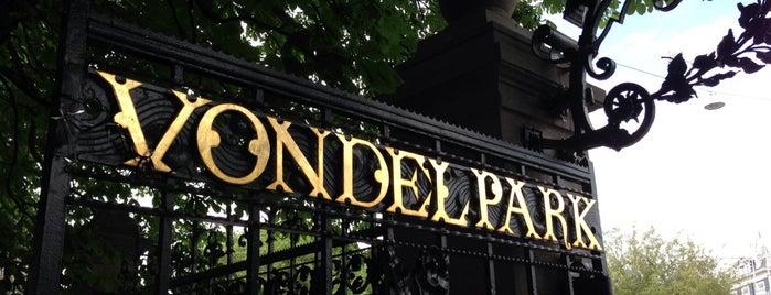 フォンデル公園 is one of P-Day in A-dam.