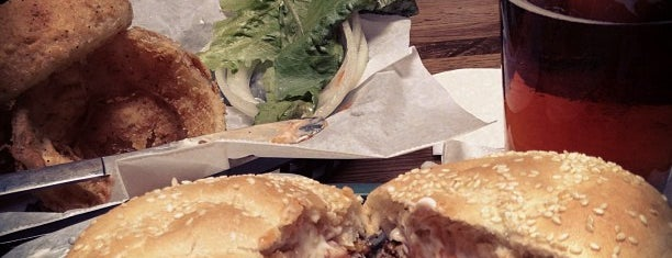 Seamus McDaniel's is one of Burger fix.