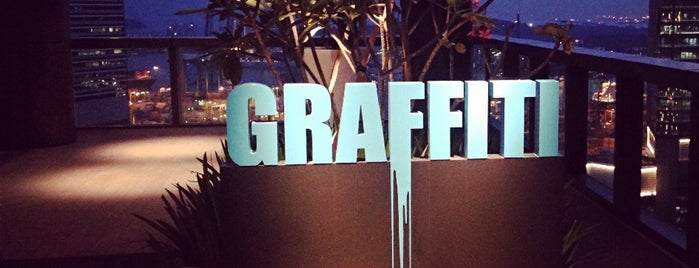 Graffiti Sky Bar is one of Locais curtidos por Ian.