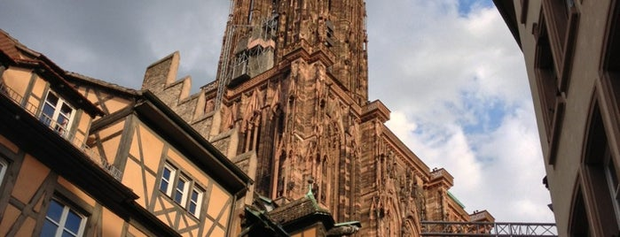 Strasbourg is one of (Temp) Best of Alsace.