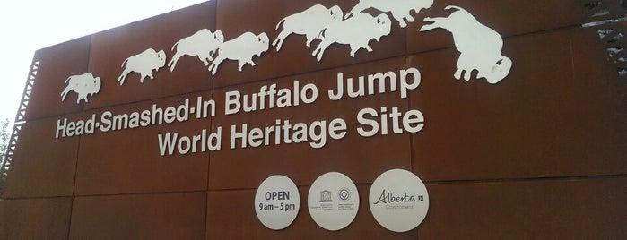 Head-smashed-in Buffalo Jump Interpretation Centre is one of Tempat yang Disukai Rich.