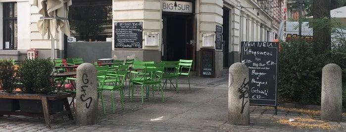 Big Sur is one of Berlin Food Spots.