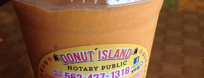 Donut Island is one of Posti che sono piaciuti a Dan.
