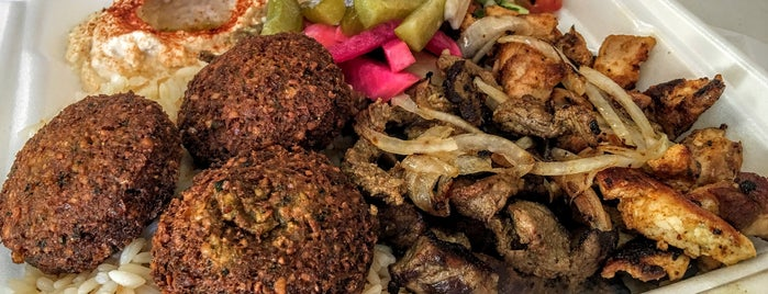 Falafel Shack is one of City of Angels.