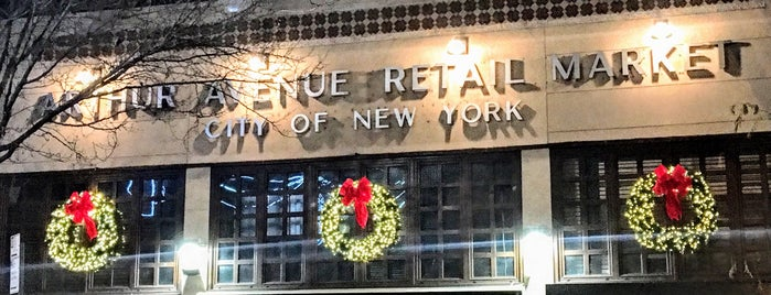 Arthur Avenue Retail Market is one of NYC.