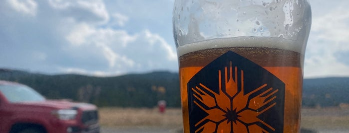 Beehive Basin Brewing is one of Big Sky.