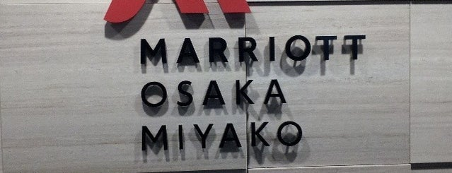 Osaka Marriott Miyako Hotel is one of Lieux qui ont plu à J..