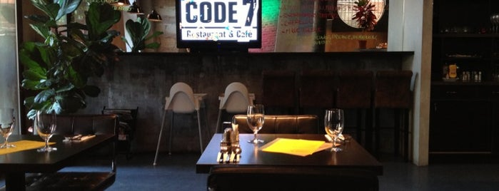 Code7 Restaurant & Cafe is one of Best Restaurants in Budapest.