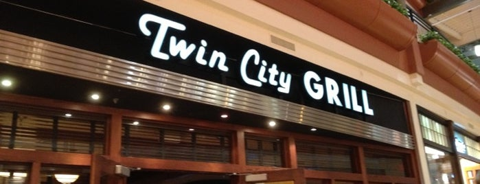Twin City Grill is one of Lieux sauvegardés par Guy.