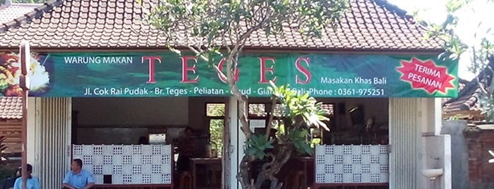 Nasi Teges is one of Must-visit Food in Bali.