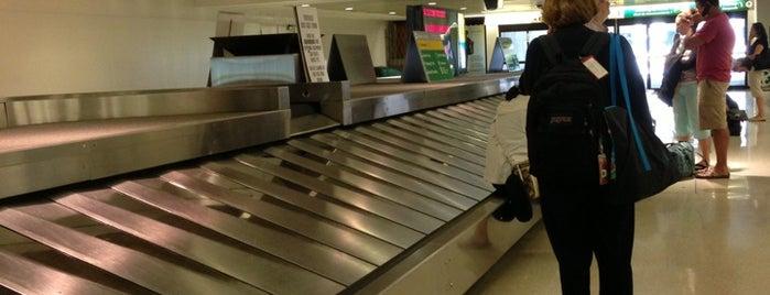 Baggage Claim is one of EWR Terminal C.