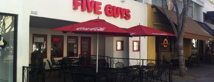 Five Guys is one of Baha'nın Beğendiği Mekanlar.