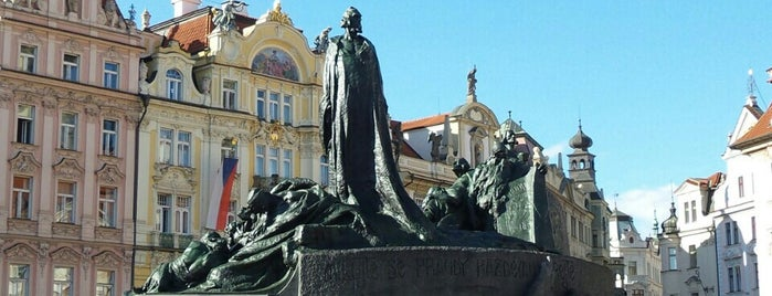 Plaza de la Ciudad Vieja is one of Czech: Dining, Coffee, Nightlife & Outings.