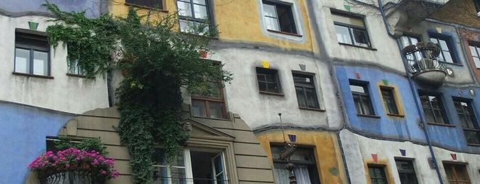 Hundertwasserhaus is one of Austria: Dining, Coffee, Nightlife & Outings.