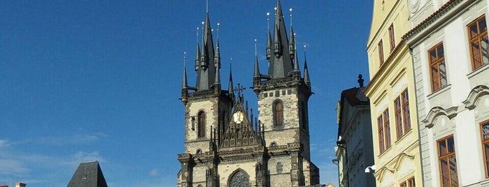 Kostel Matky Boží před Týnem is one of Czech: Dining, Coffee, Nightlife & Outings.