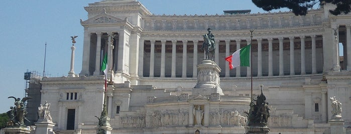 Altare della Patria is one of Italy: Dining, Coffee, Nightlife & Outings.